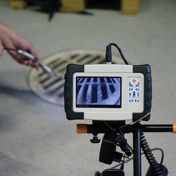 επιθεώρηση με βιντεοκάμερα